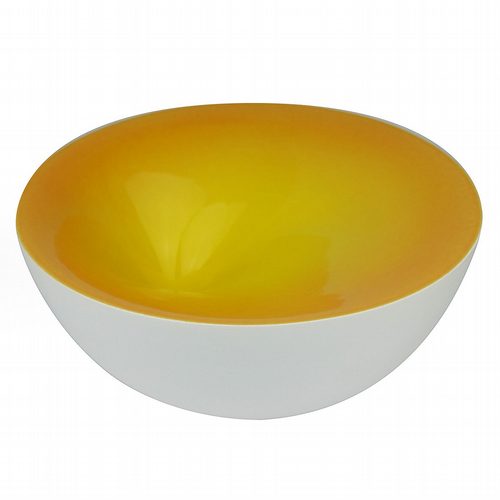 Olav Slingerland - Dot Bowl - Egg Yolk Yellow